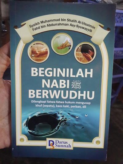 Buku Beginilah Nabi Muhammad Berwudhu Cover