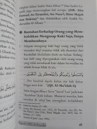 Buku Beginilah Nabi Muhammad Berwudhu Isi