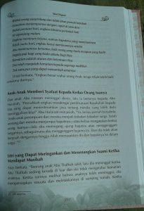 Buku Masterpiece Pernikahan Islam Bekal Pengantin isi