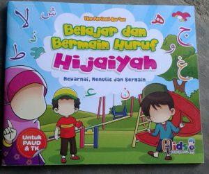 Buku Anak Belajar & Bermain Huruf Hijaiyah Mewarnai menulis cover