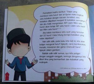 Buku Anak Belajar & Bermain Huruf Hijaiyah Mewarnai menulis isi