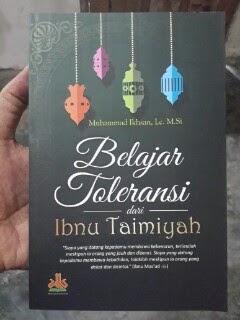Buku Belajar Toleransi Dari Ibnu Taimiyah Cover