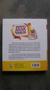 Buku Berkah Anak Shalih Anak Yang Dirindukan Banyak Orang cover 2