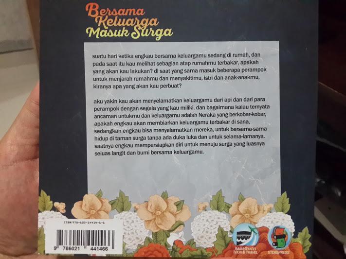 Buku Bersama Keluarga Masuk Surga Cover 2