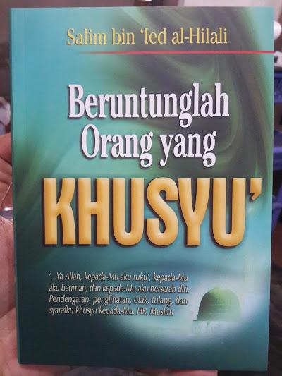 Buku Beruntunglah Orang Yang Khusyuk Cover
