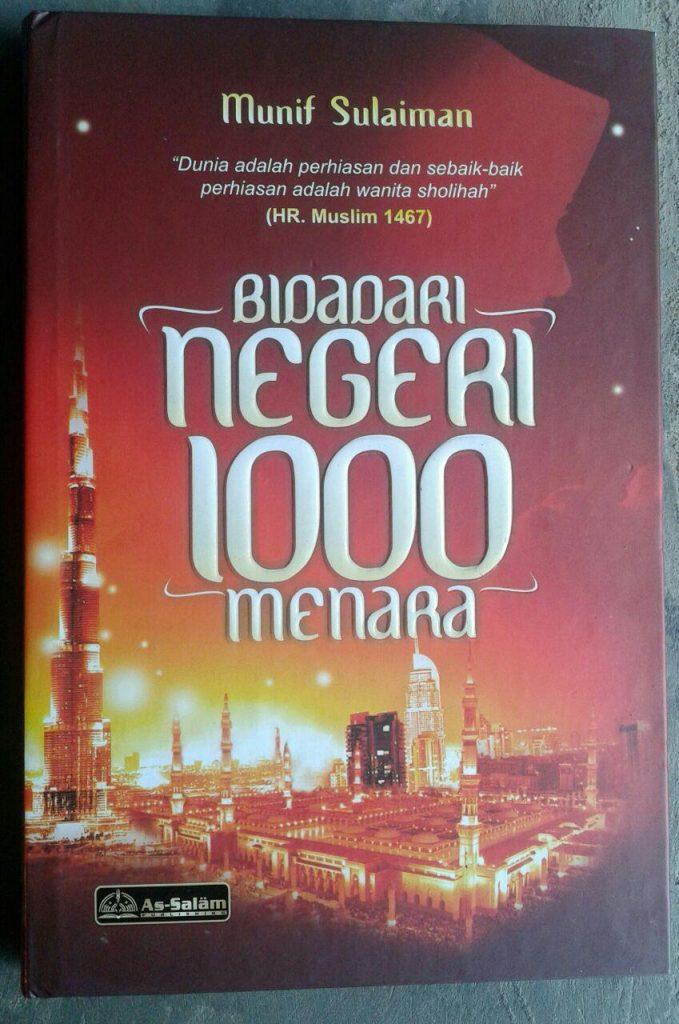 Buku Bidadari Negeri 1000 Menara cover 2