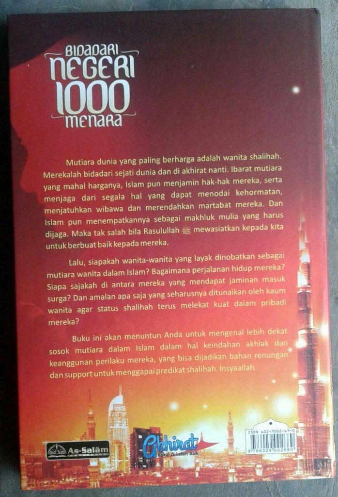 Buku Bidadari Negeri 1000 Menara cover