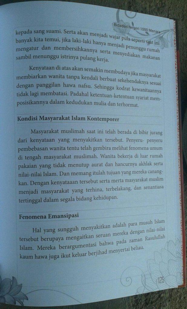 Buku Bidadari Negeri 1000 Menara isi 2