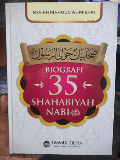 Buku Biografi 35 Shahabiyah Nabi Cover