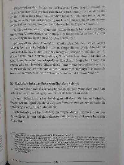 Buku Biografi 35 Shahabiyah Nabi Isi