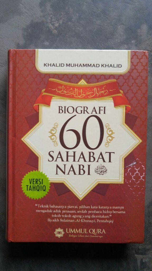 Buku Biografi 60 Sahabat Nabi Versi Tahqiq cover