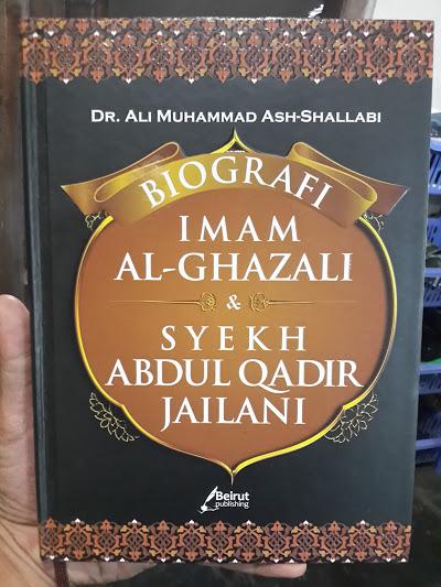 Buku Biografi Imam Al-Ghazali Dan Syekh Adul Qadir Jailani Cover