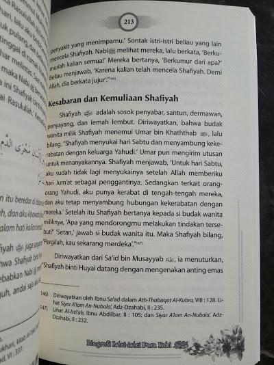 Buku Biografi Istri Istri Para Nabi Isi