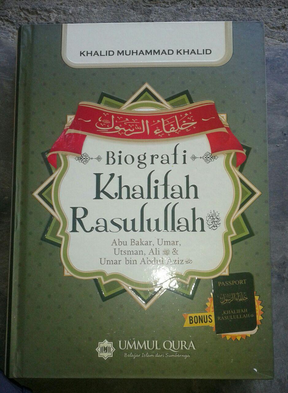 Buku Biografi Khalifah Rasulullah cover