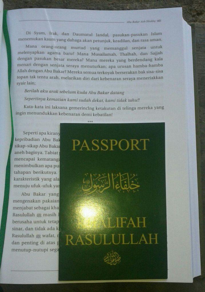 Buku Biografi Khalifah Rasulullah isi 2