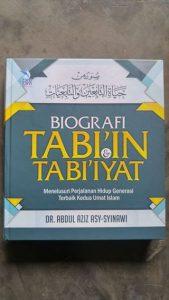 Buku Biografi Tabi'in Tabi'iyat cover