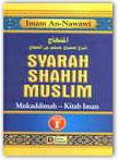 Buku Syarah Shahih Muslim Oleh An-Nawawi Jilid 1