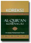 Buku Koreksi Al-Qur'an KEMENAG RI