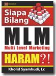 Buku:Siapa Bilang MLM Haram