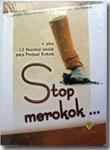 Buku Stop Merokok Plus 13 Nasehat Untuk para Penjual Rokok