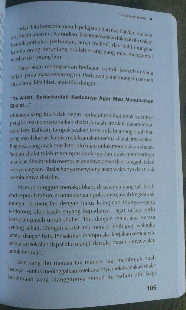 Buku True Story Bocah-Bocah Pembawa Hidayah isi 2