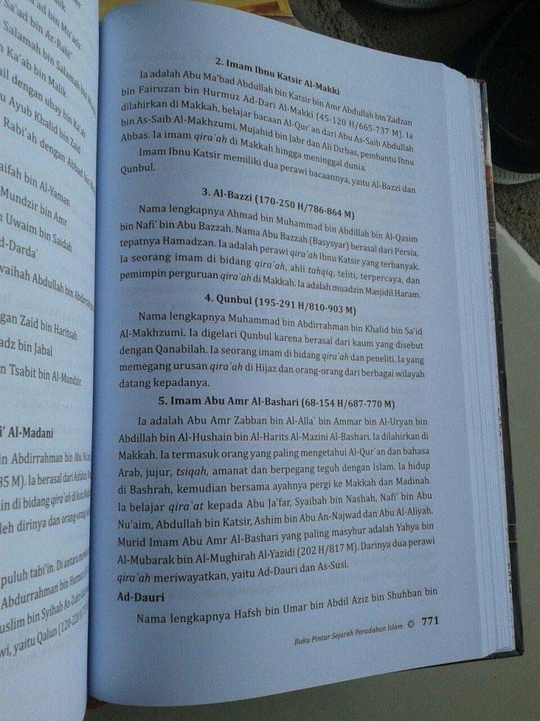 Buku Pintar Sejarah & Peradaban Islam isi 6