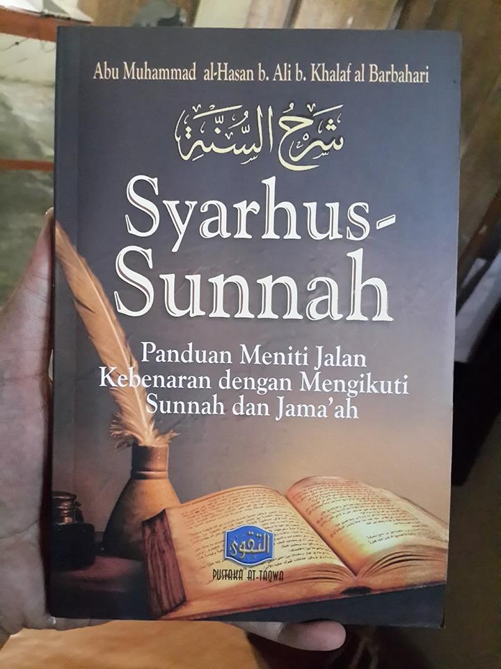 Buku Syarhus Sunnah Panduan Meniti Jalan Kebenaran Cover