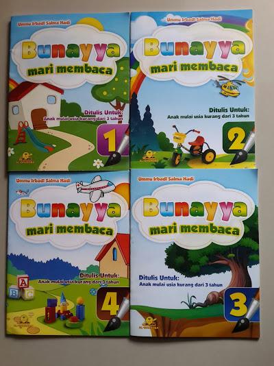 Buku Anak Bunayya Mari Membaca Cover Lengkap