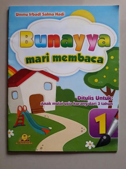 Buku Anak Bunayya Mari Membaca Cover