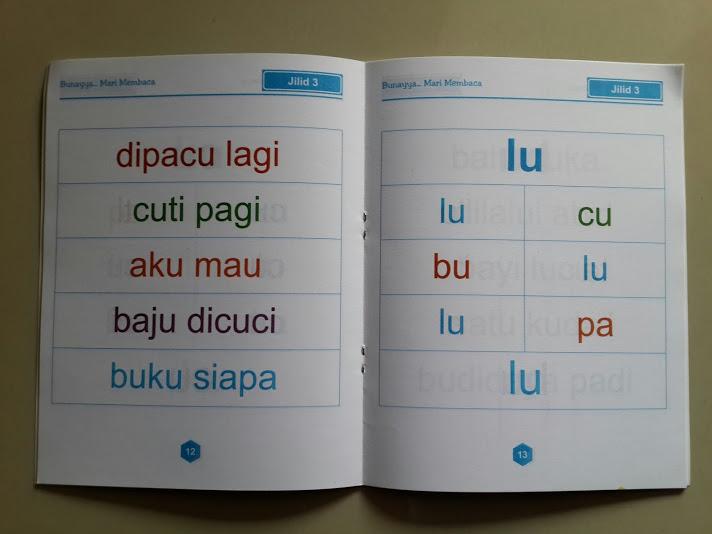 Buku Anak Bunayya Mari Membaca Isi 2