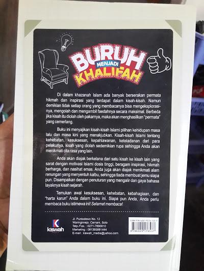 Buku Buruh Menjadi Khalifah Kisah Motivasi Islam Cover 2