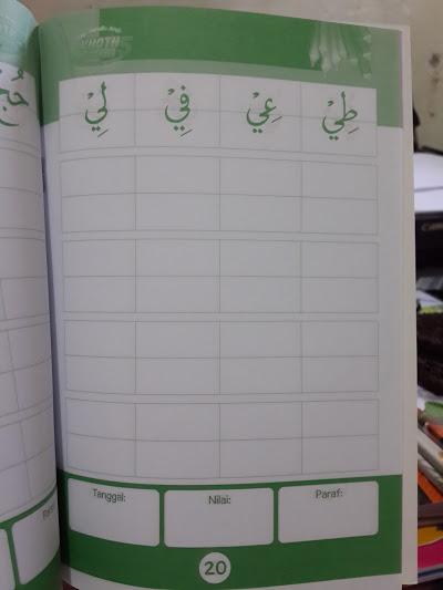 Buku Cakap Menulis Arab Khoth Naskhi Isi