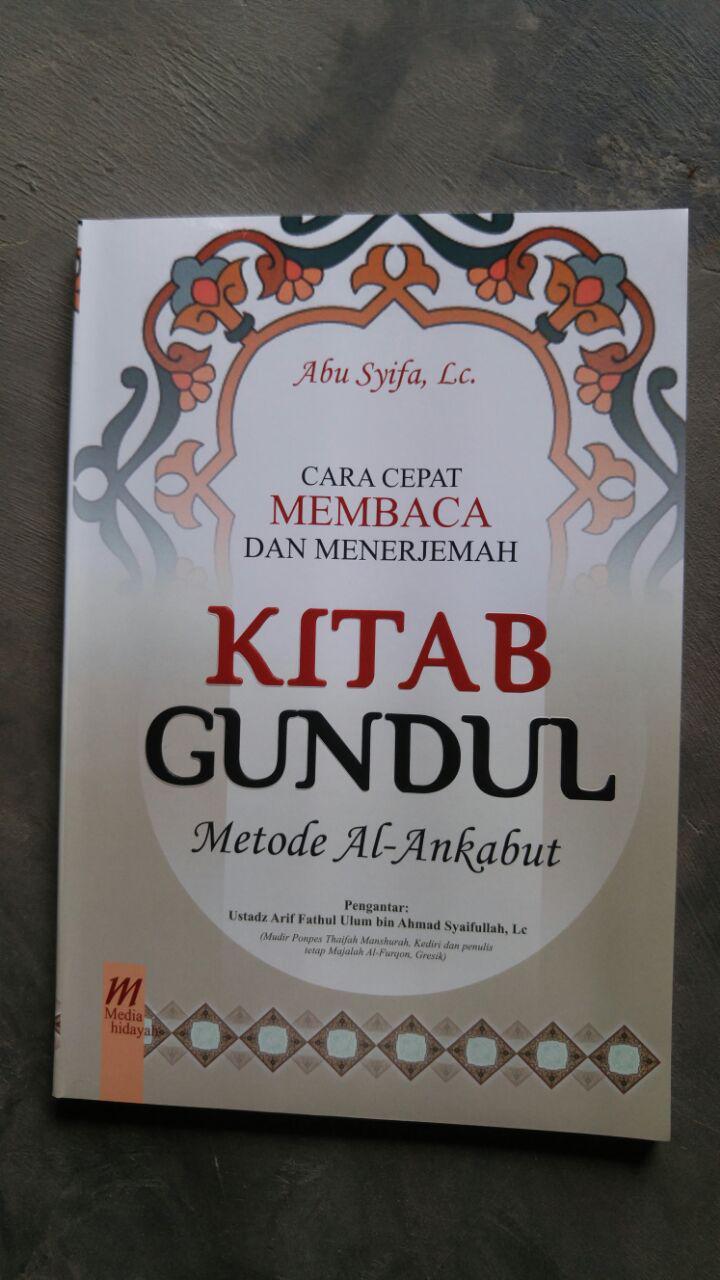 Buku Cara Cepat Membaca Dan Menerjemah Kitab Gundul Ankabut cover