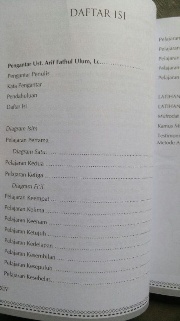 Buku Cara Cepat Membaca Dan Menerjemah Kitab Gundul Ankabut isi 2