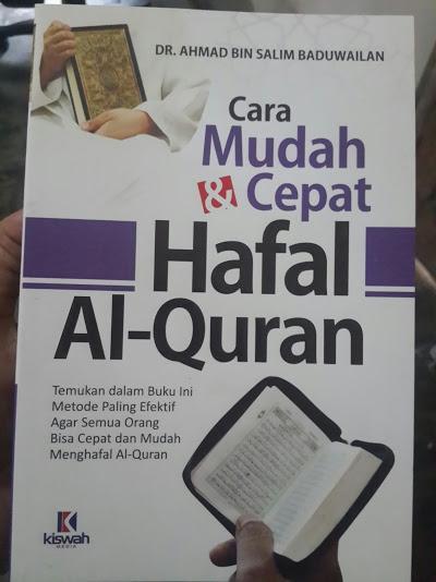 Buku Cara Mudah Dan Cepat Hafal Al-Quran Cover
