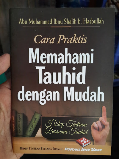 Buku Saku Cara Praktis Memahami Tauhid Dengan Mudah Cover