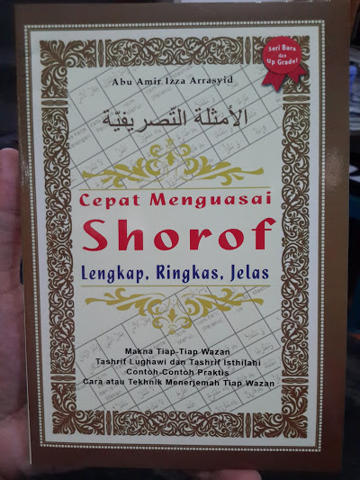 Buku Cepat Menguasai Shorof Cepat Ringkas Jelas Cover