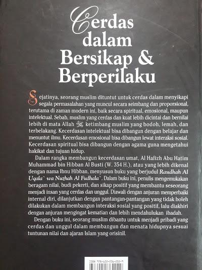 Buku Cerdas Dalam Bersikap Dan Berperilaku Cover 2