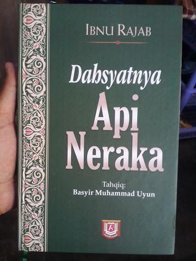 Buku Dahsyatnya Api Neraka Cover