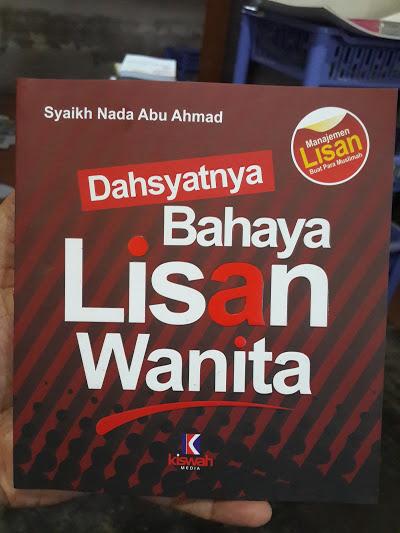 Buku Dahsyatnya Bahaya Lisan Wanita Cover
