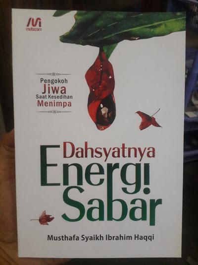 Buku Dahsyatnya Energi Sabar Cover