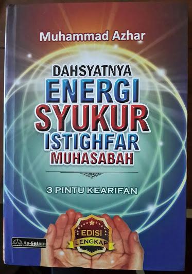 Buku Dahsyatnya Energi Syukur Istighfar Muhasabah Cover
