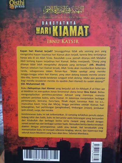Buku Dahsyatnya Hari Kiamat Rujukan Dan Tanda Kiamat Cover 2