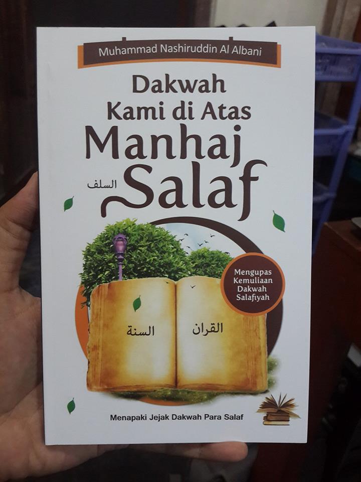 Buku Dakwah Kami Di Atas Manhaj Salaf Cover