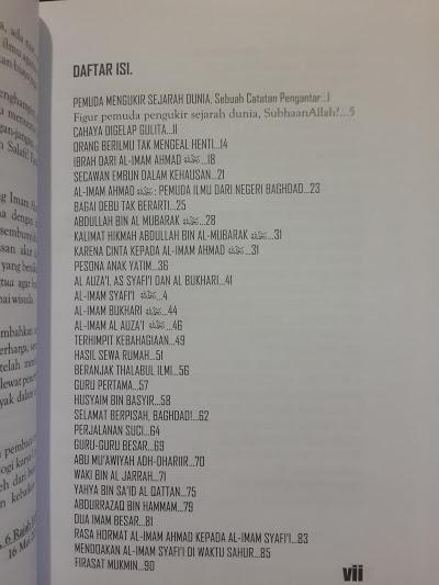 Buku Dari Ayunan Sampai Liang Lahat Imam Ahmad Daftar Isi