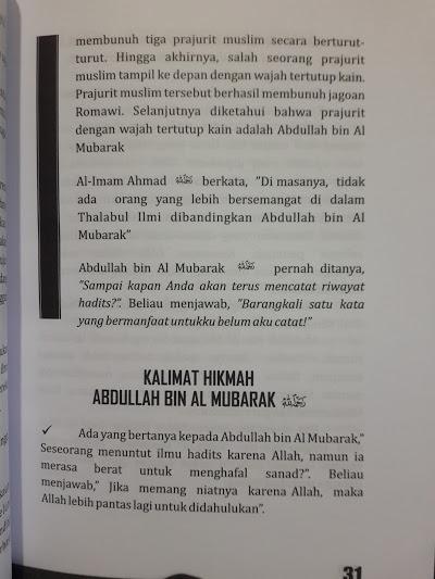 Buku Dari Ayunan Sampai Liang Lahat Imam Ahmad Isi