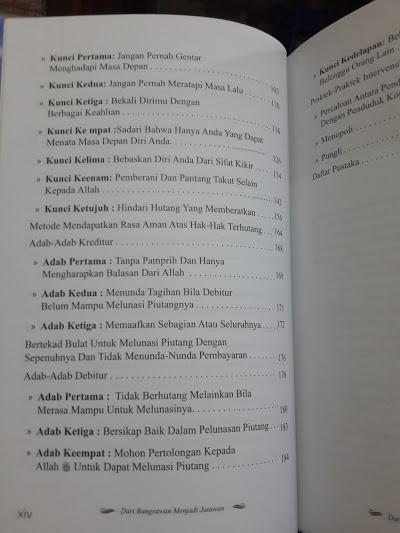 Buku Dari Bangsawan Menjadi Jutawan Daftar Isi 2