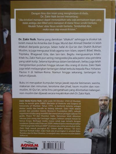 Buku Debat Islam Vs Non Islam Argumen Cerdas Zakir Naik Cover 2