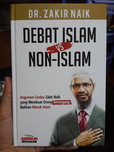 Buku Debat Islam Vs Non Islam Argumen Cerdas Zakir Naik Cover