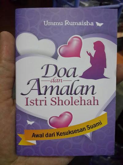 Buku Saku Doa Dan Amalan Istri Sholihah Cover